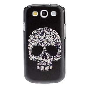 Flower Skull Pattern Hard Case for Samsung Galaxy S3 I9300