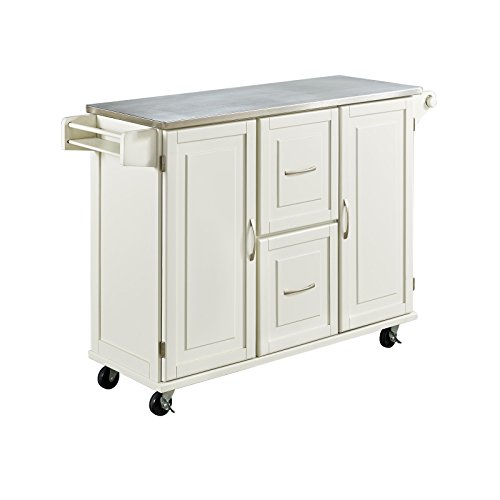 Home Styles Natural Designer Utility Cart Home Styles Natural