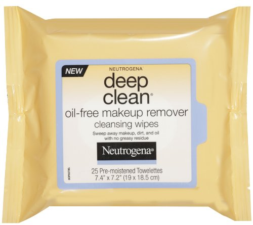 Neutrogena Deep Clean Oil-Free Makeup Remover Cleansing Wipe