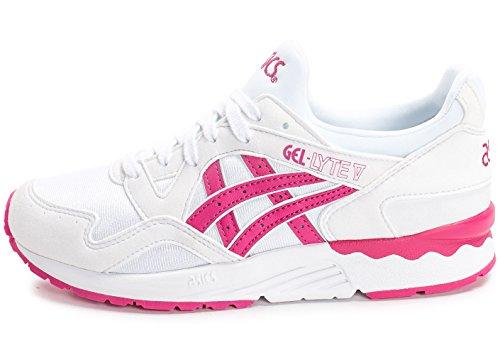 Zapatillas Asics – Gel-Lyte V Gs blanco/rosa talla: 39
