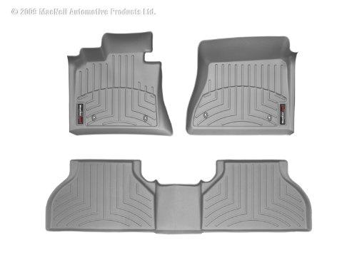 WeatherTech (46292-1-4) FloorLiner, Front/Rear, (Gray Front Floor Liner)