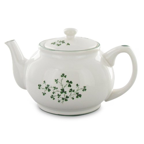 English Tea Store Shamrock Teapot 2 Cup