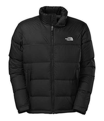 The North Face Chest Pocket Coat (The North Face Men's Nuptse Jacket TNF Black Size Large)