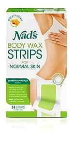 Nad's Body Wax Strips, 24 Strips