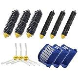 TOP-MALLReposición Mega Pack Cepillos Kit para iRobot Roomba serie 600-incluyen un conjunto de 12
