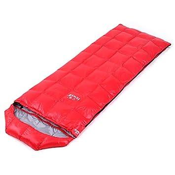 JSJDFPDC Saco de Dormir Abajo Caliente Tipo Envolvente Exterior Super Ligera Bolsa de Dormir Camping Primavera y Otoño Empalmado Sacos de Dormir,color1: ...