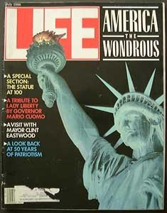 Kurt Angle Life - LIFE   Magazine  -   July, 1986 - Cover: America the Wondrous