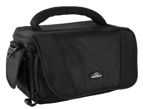 Universal Camcorder Tasche mit Platz für Zubehör. Wahlweise mit 32GB SDHC Class 10 oder 16GB SDHC Class 10 (ohne Speicherkarte)