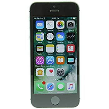 Apple iPhone SE 16 GB Factory Unlocked, Space Gray (Certified Refurbished)