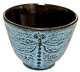 Japanese Cast Iron Tea Cup - Dragonfly LB