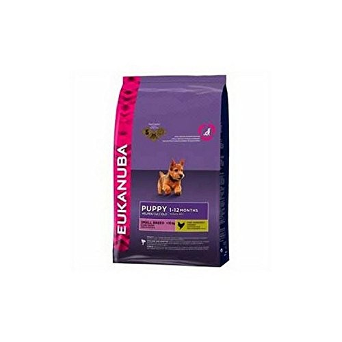 Eukanuba Small Breed Puppy Dog Food (7.5kg) (Pack of 2)