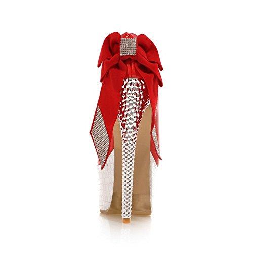 Inconnu 1To9 Escarpins Pour Femme Rouge Red, 37.5 EU, MMS02097