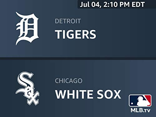 Detroit Tigers Game - Home Broadcast