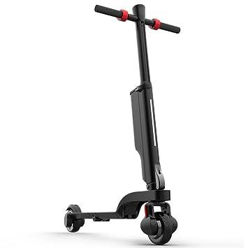 LOLOP Scooter eléctrico Plegable Scooter de conducción ...