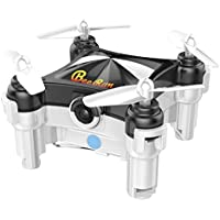 Beebeerun WiFi FPV RC Quadcopter Mini Drone with Camera Dance Mode Optical Flow Altitude Hold 360° Flips & Rolls Gravity Sensor APP or Transmitter Control