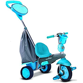 Amazon Com Smartrike Swing 4 In 1 Baby Trike Blue Toys