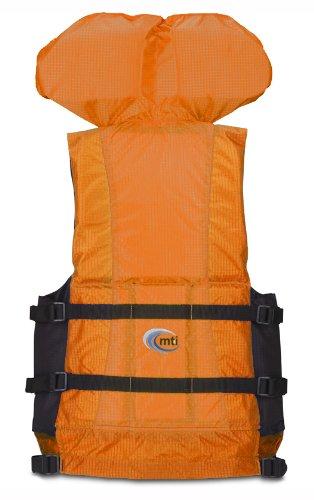 MTI Adventurewear Canyon V Rafting PFD (Orange, Large/X-Large)