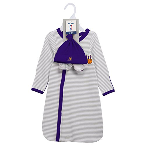 f4c09f6d7 Outerstuff Los Angeles Lakers Baby Boy Gown