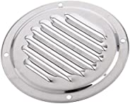 Stainless Steel Round Louver Vent 4 Inch Deck Hardware Marine Boat Car Accessories for Marine Boat Yacht RV Ve