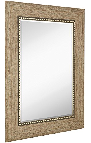 Wide Transitional Framed Mirror  | 1
