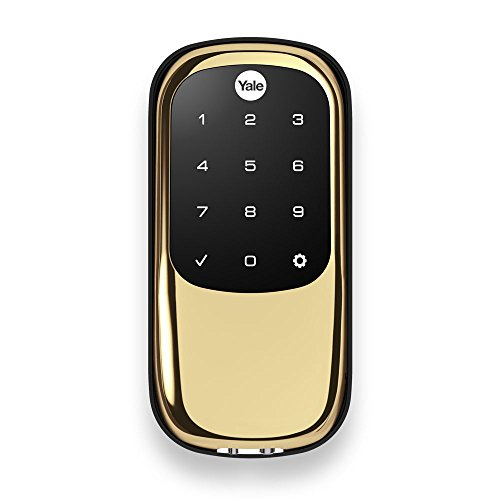 Yale Touchscreen Deadbolt SmartThings YRD240 ZW 605
