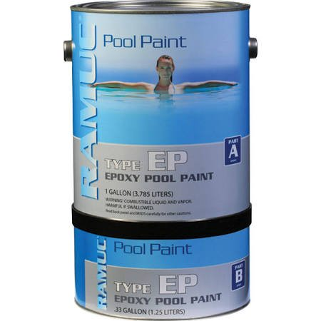 Republic Powered Metals 9081-328 Ramuc Epoxy Pool Paint Dawn Blue 1 ()