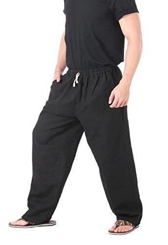 CandyHusky-100-Hemp-Mens-Casual-Lounge-Yoga-Pants