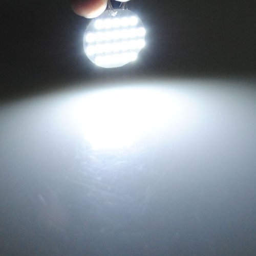 G4 1210 SMD 24 LED Lumiere Lampe Ampoule SPOT Bulb Blanc 6000-6500K DC 12V