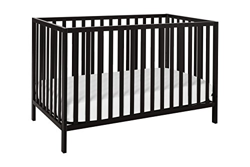 Union 2-in-1 Convertible Crib, Ebony - Crib Simplicity Toddler