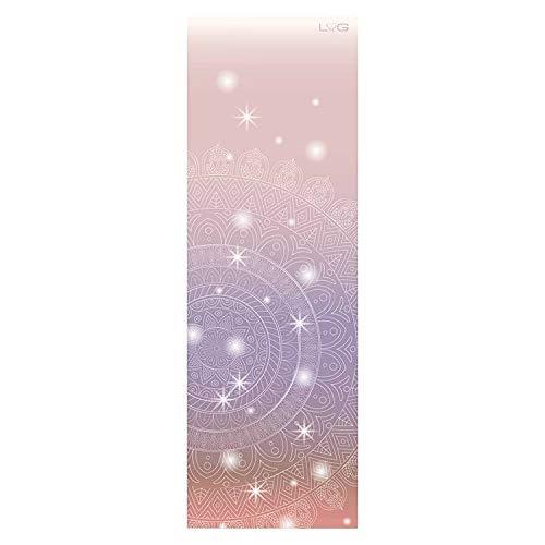 Love Generation Full Farbe Cosmic Yoga-Matte - Naturkautschuk