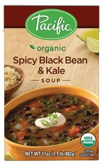 (Pacific Foods, Organic Spicy Black Bean & Kale Soup (Pack of 2))