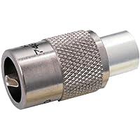 GEMECO GEM-83-1SP / MFG# 83-1SP Amphenol 83-1SP PL259 UHF Solder Type Plug, silver