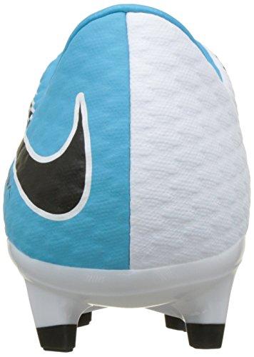 Nike Herren Hypervenom Phelon III FG Fußballschuhe Mehrfarbig (White/black-photo Blue-chlorine Blue)