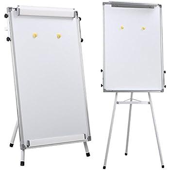 "Yaheetech 36"" x 24"" Telescopic Magnetic Tripod Whiteboard Flipchart Easel Lightweight"