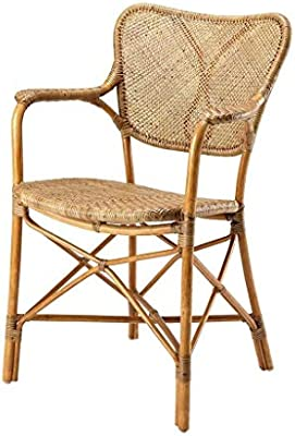 Excellent Amazon Com Honey Rattan Dining Armchair Eichholtz Colony Ocoug Best Dining Table And Chair Ideas Images Ocougorg