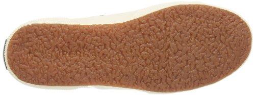 Superga 2750- SPOTTED FABRICW S0069H0 - Zapatillas de deporte de lona para mujer Beige/Blue