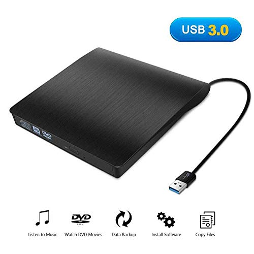 External DVD/CD Drive - USB 3.0 Slim Portable CD DVD for sale  Delivered anywhere in Canada