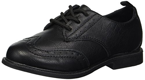 Carter's Boys' Henry Dress Shoe Oxford, Black, 10 M US Toddler