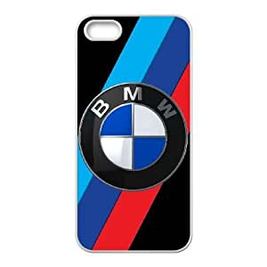 iPhone 5, 5S Cell Phone Case White BMW Plastic Durable Cover Cases derf6976075