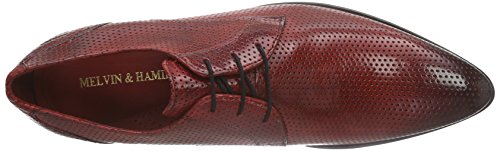 Hamilton amp; Derby Perfo Melvin Homme Rouge red Chaussures classic ls 5aqnO4A