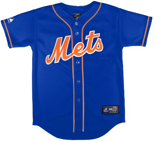 MLB New York Mets Alternate Replica Jersey, Royal, Small