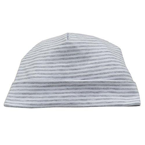 (Kissy Kissy Baby Essentials Striped Hat-Gray-Newborn)