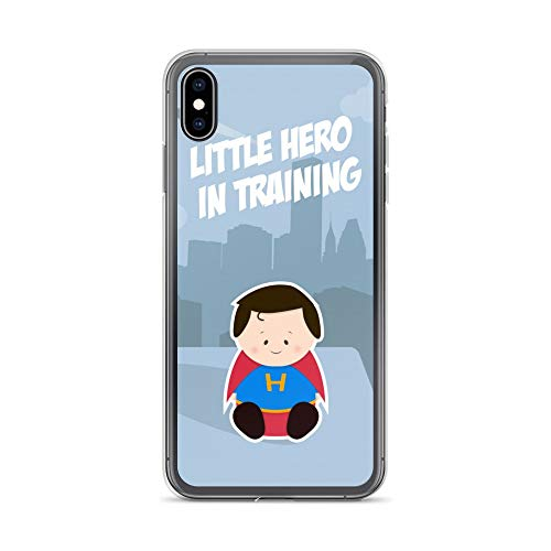 iPhone Xs Max Case Anti-Scratch Motion Picture Transparent Cases Cover Pop Culture Themed Metal Perfect for Your Little Classic Movies Video Film Crystal -