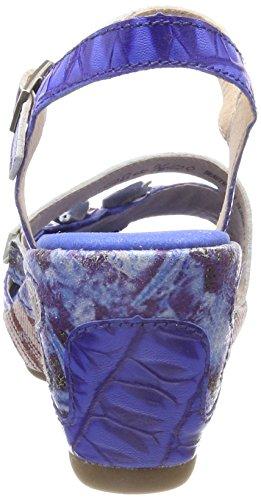 Mujer Sandalias Laura Bleu Vita con Abierta Punta Azul Bleu 118 Beaute pF0xUFq