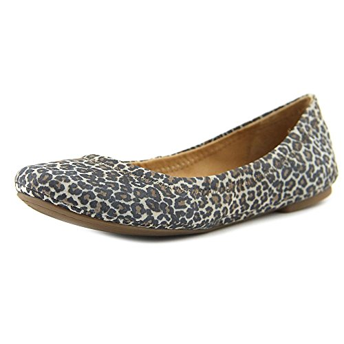 Lucky Womens Emmie Ballet Flat Brindle Persian Leopard