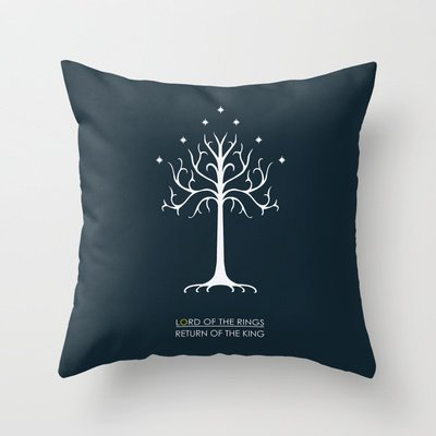 - Simple Design Cheap Pillowcase Lord Of The Rings Rotk Throw Pillow