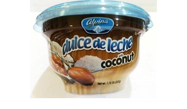 Amazon.com : Alpina Dulce de Leche with Coconut : Gourmet Food : Grocery & Gourmet Food
