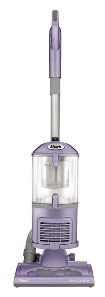 SharkNinja NV352 Navigator Lift Away HEPA Canister Vacuum Cleaner (Renewed) Purple