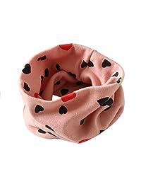Changeshopping Autumn Winter Boys Girls Collar Baby Scarf Cotton O Ring Neck Scarves