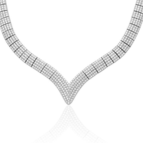CLEOR - Collier CLEOR Argent 925/1000 Oxyde - Femme - 42 cm